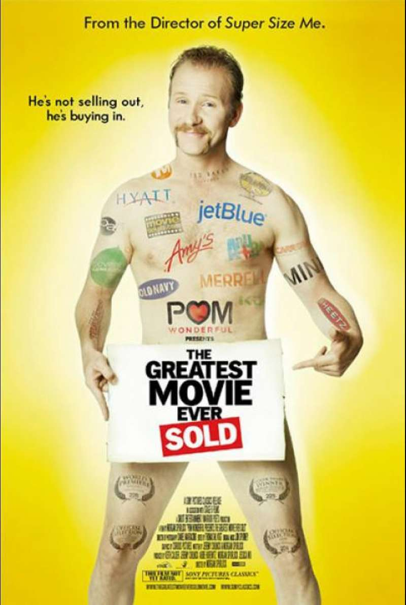 The Greatest Movie Ever Sold - Filmplakat (US)