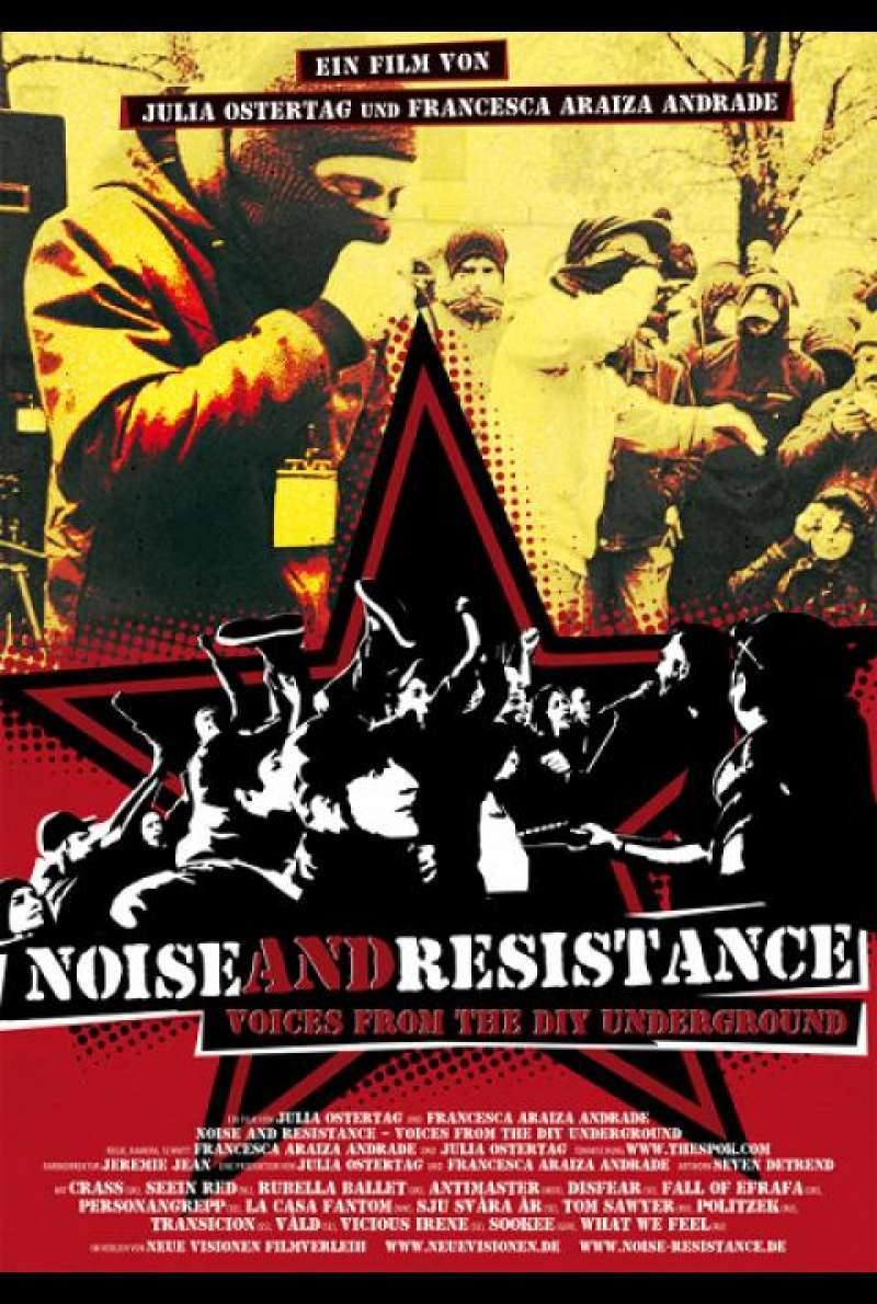 Noise and Resistance - Filmplakat