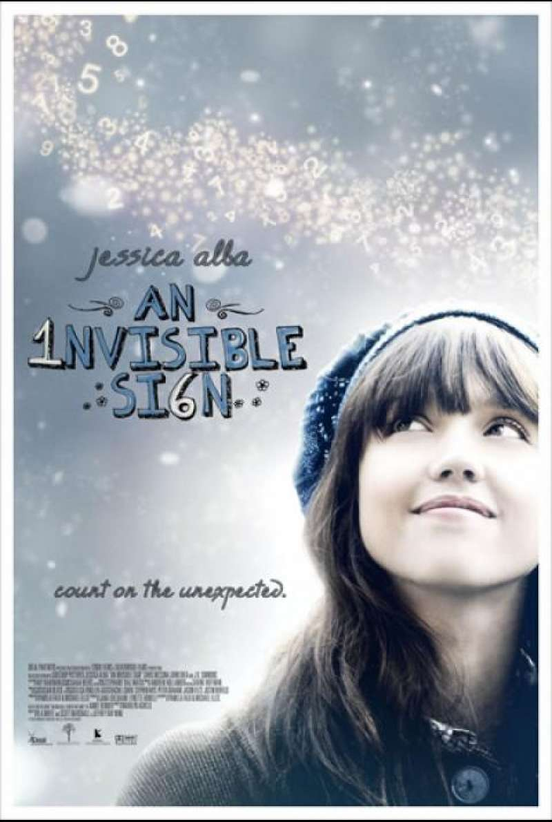 An Invisible Sign - Filmplakat (US)