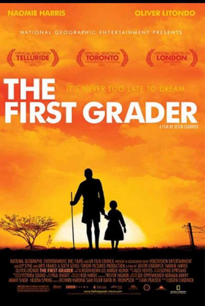 The First Grader - Filmplakat (US)