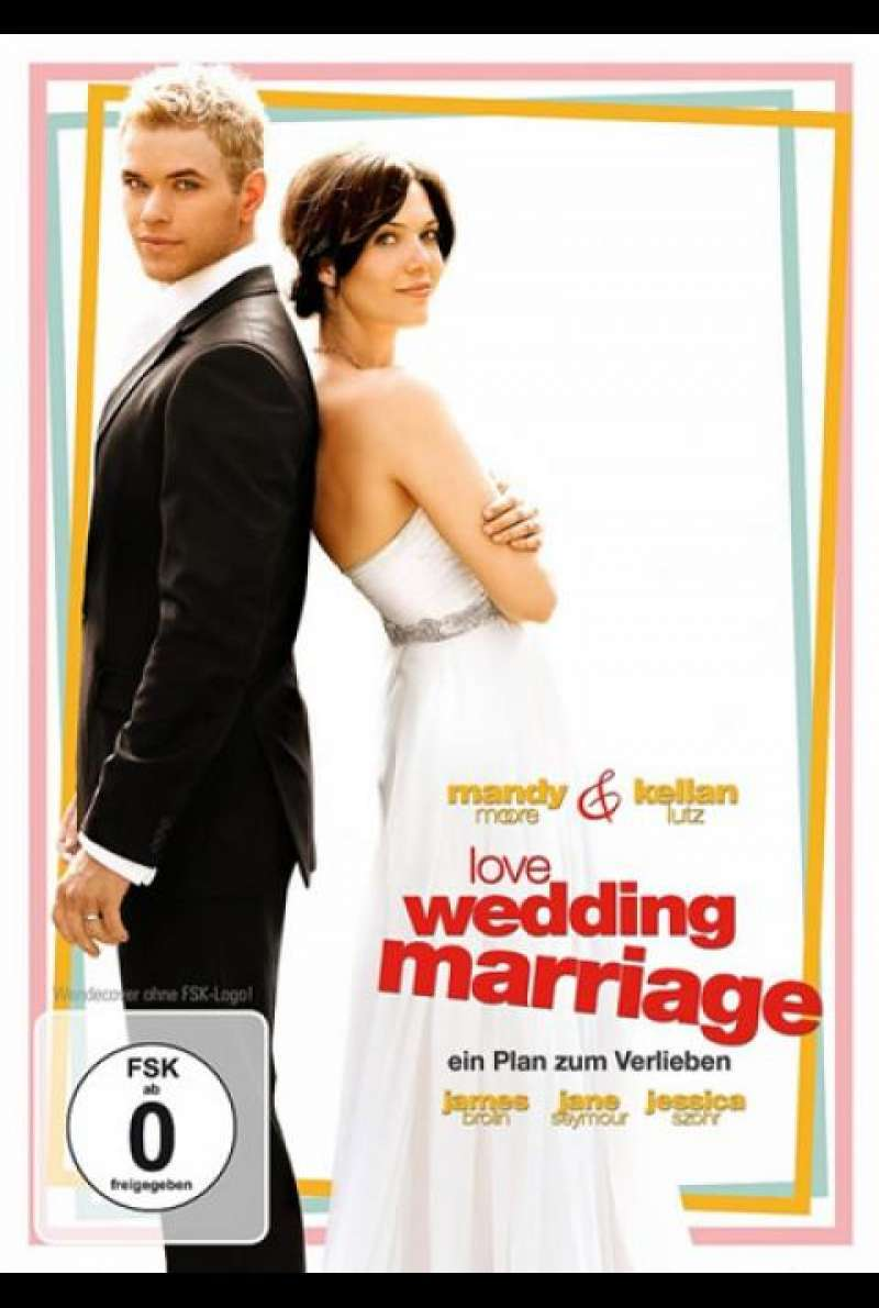 Love, Wedding, Marriage - DVD-Cover