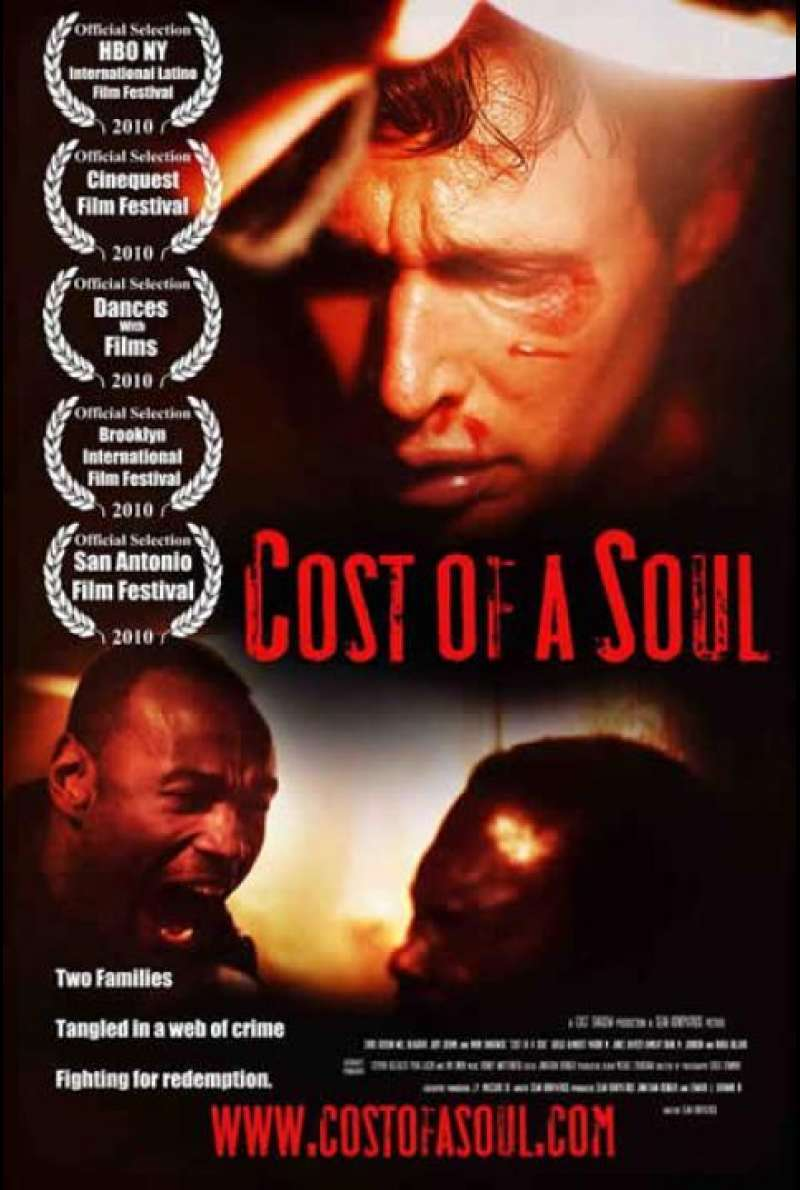 Cost of a Soul - Filmplakat (US)