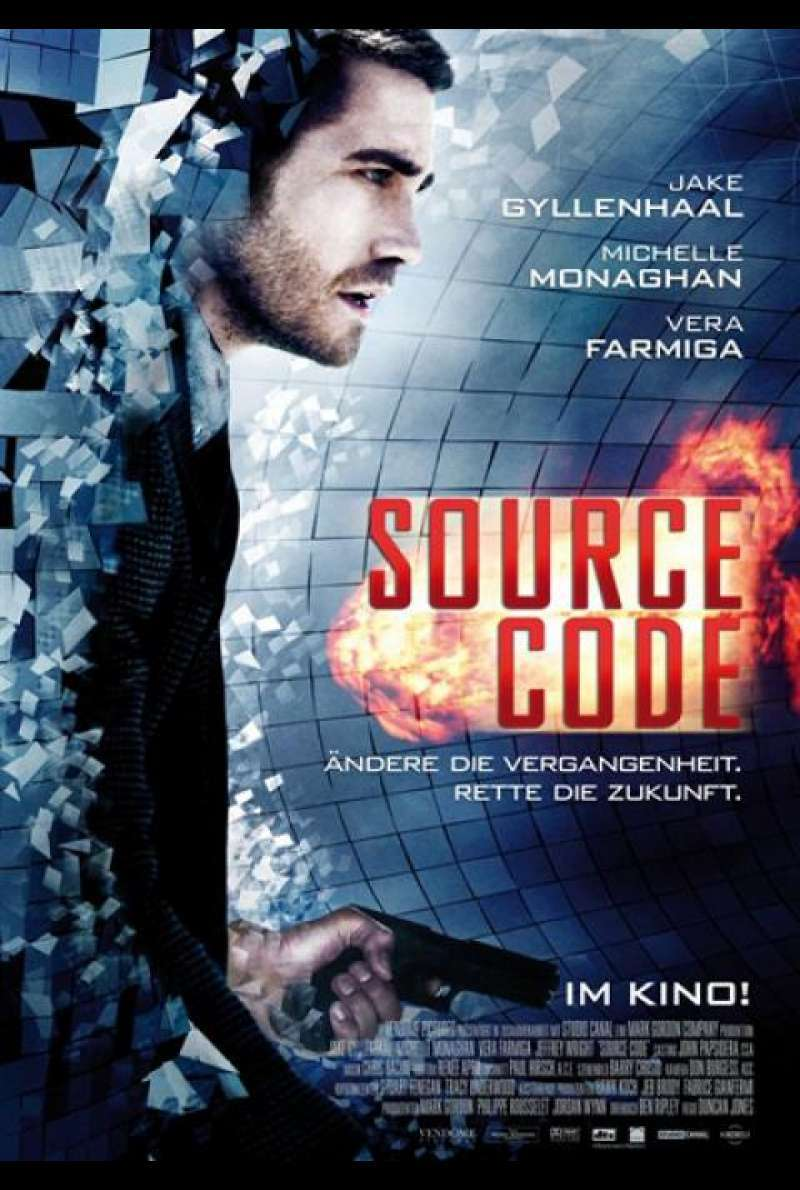 Source Code - Filmplakat
