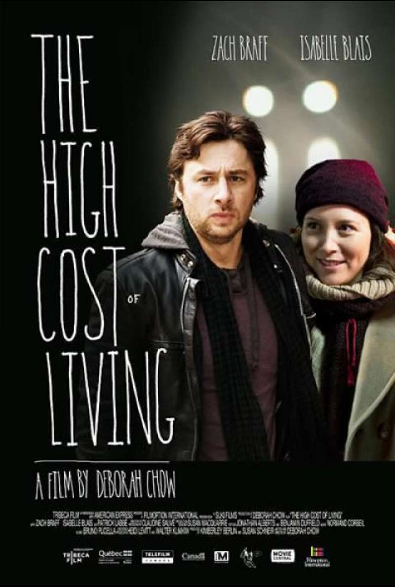The High Cost of Living - Filmplakat (US)