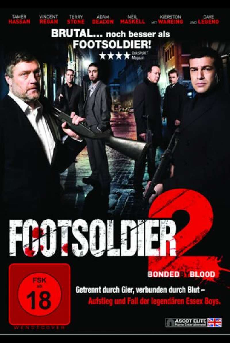 Footsoldier 2 - DVD-Cover