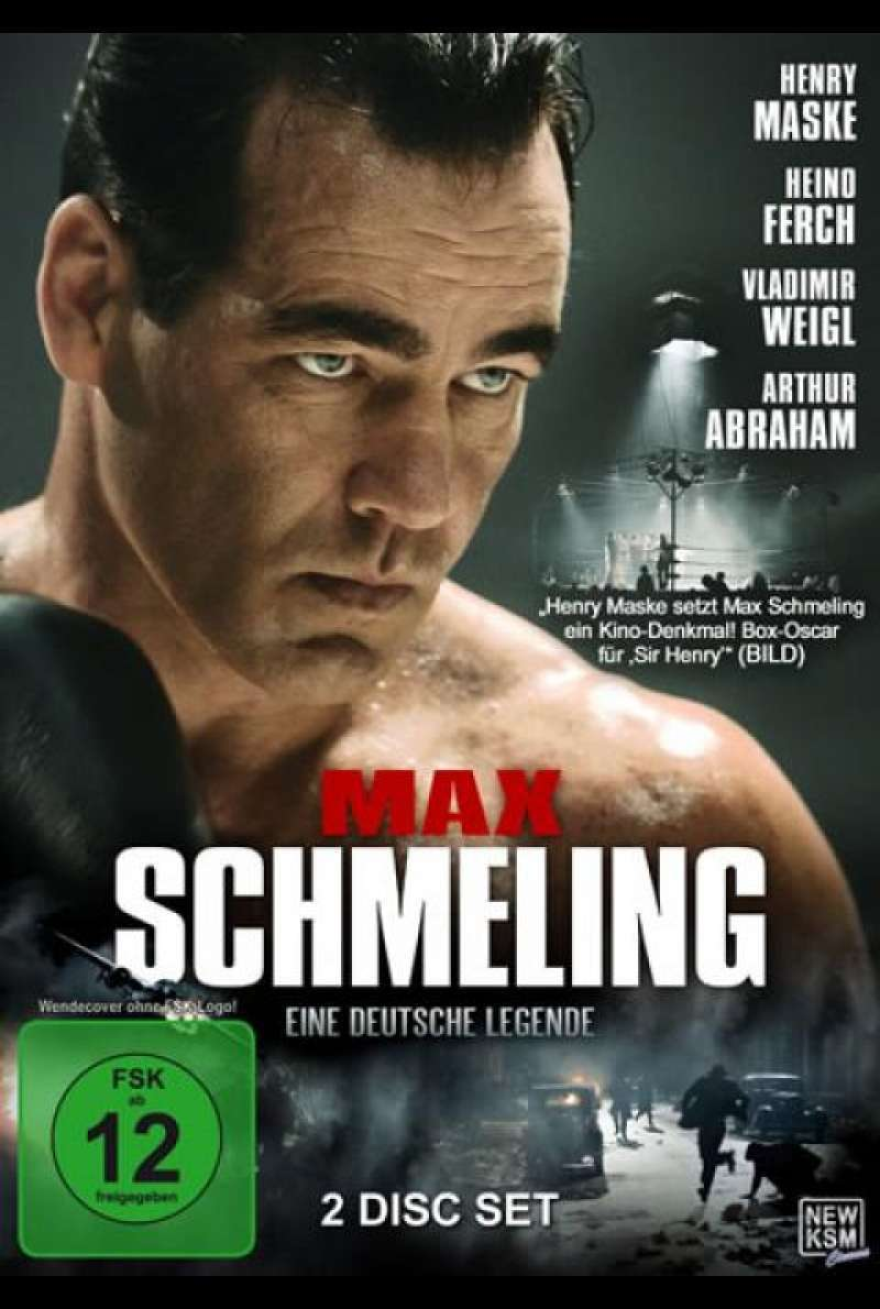 Max Schmeling - DVD-Cover