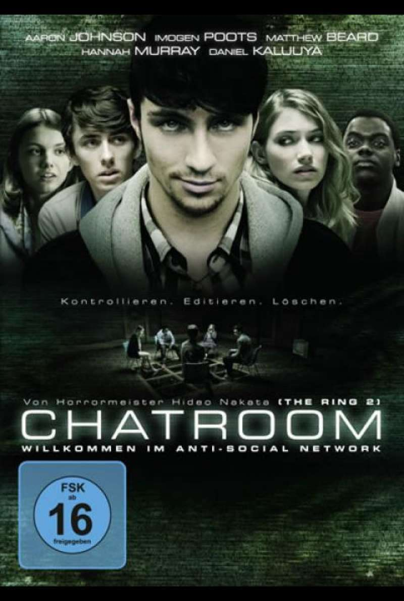 Chatroom - DVD-Cover