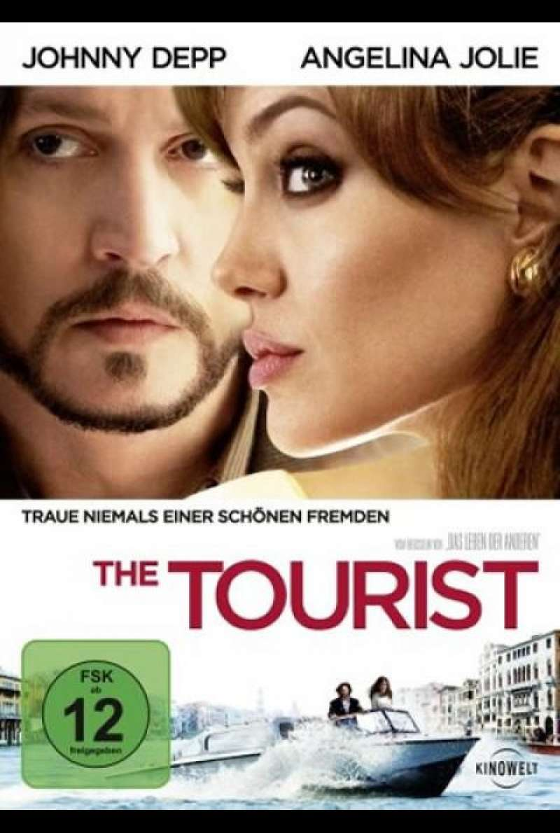 The Tourist - DVD-Cover