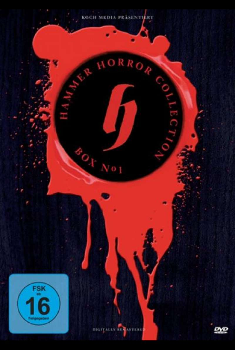 Hammer Horror Collection Box No. 1 - DVD-Cover