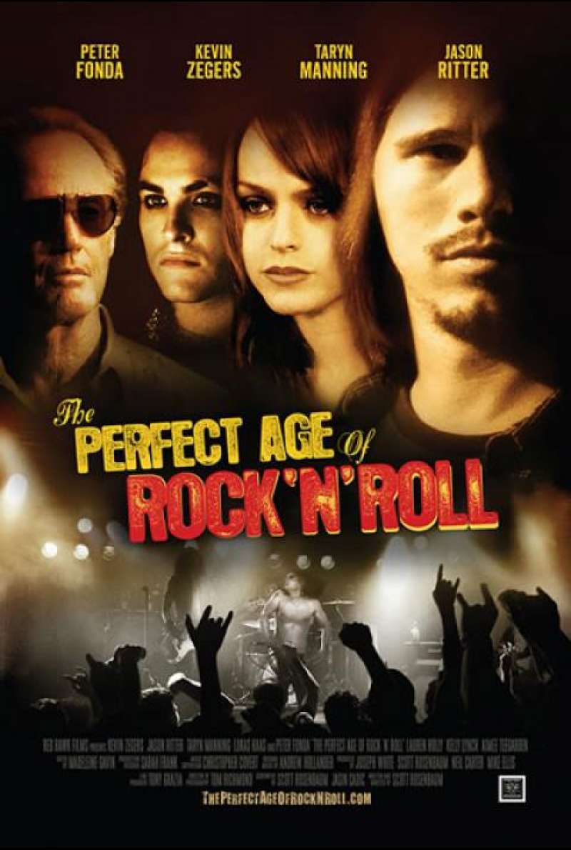 The Perfect Age of Rock 'N' Roll - Filmplakat (US)