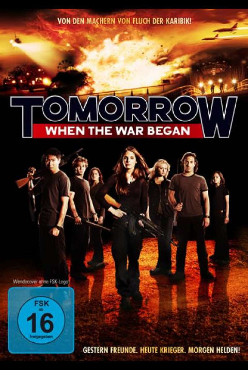Tomorrow, When the War Began - DVD-Cover
