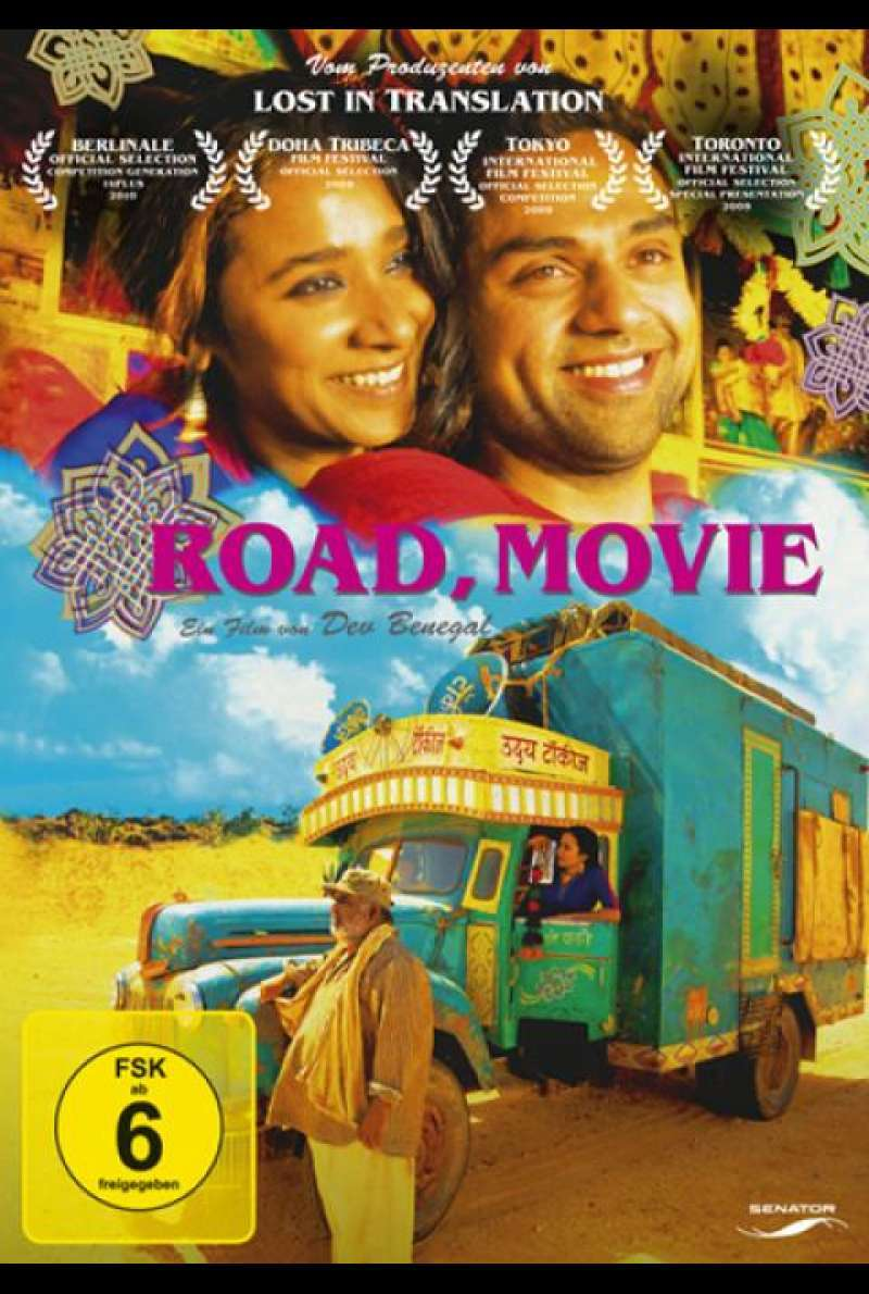 Road, Movie - DVD-Cover