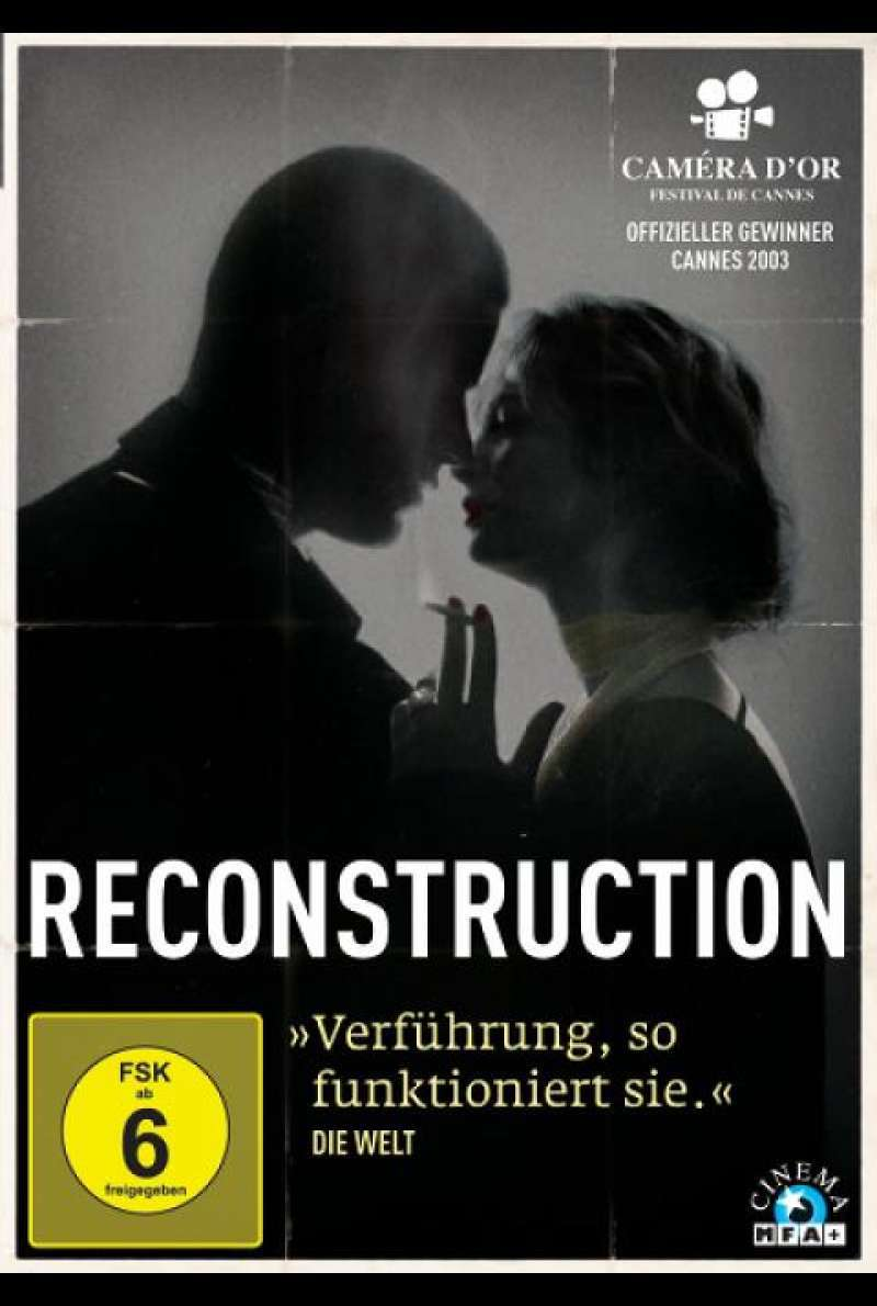 Reconstruction von Christoffer Boe - DVD-Cover