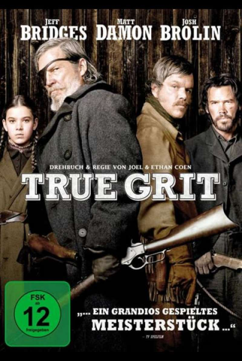 True Grit - DVD-Cover