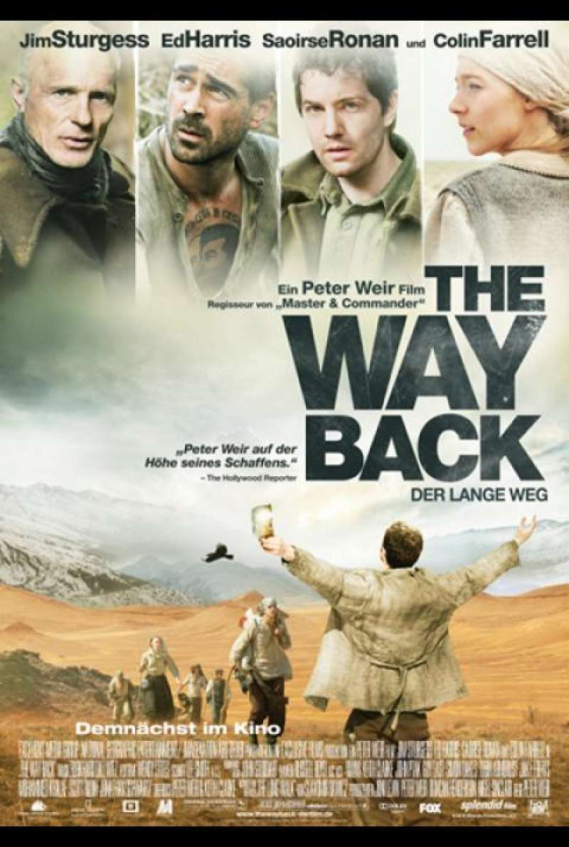 The Way Back - Filmplakat