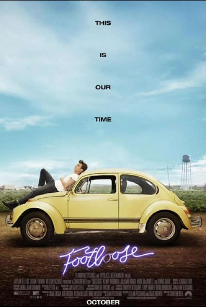 Footloose - Filmplakat (US)