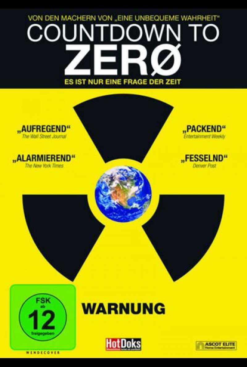 Countdown to Zero - DVD-Cover