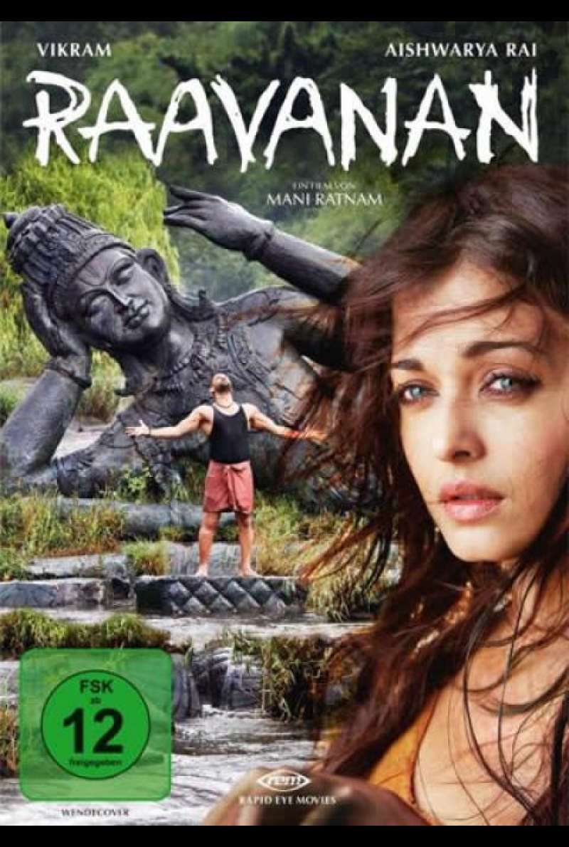 Raavanan - DVD-Cover