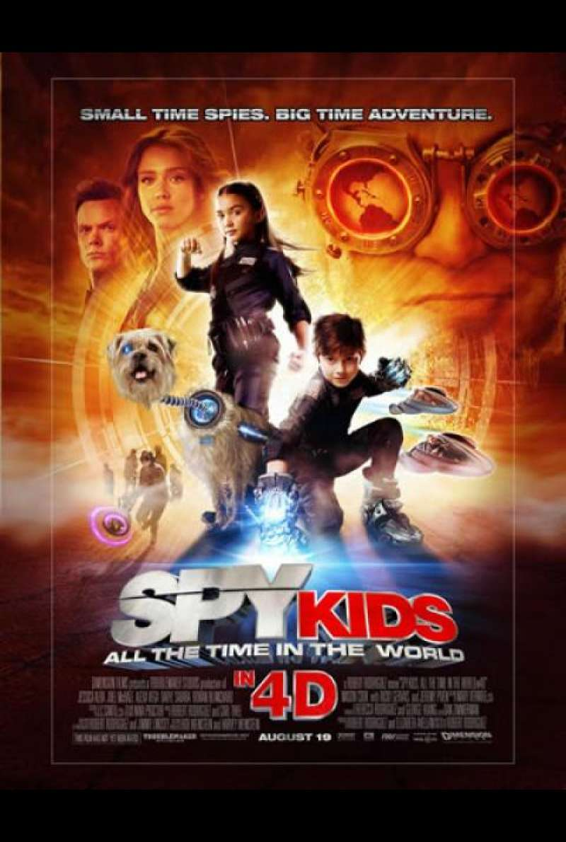 Spy Kids 4: All the Time in the World - Filmplakat (US)