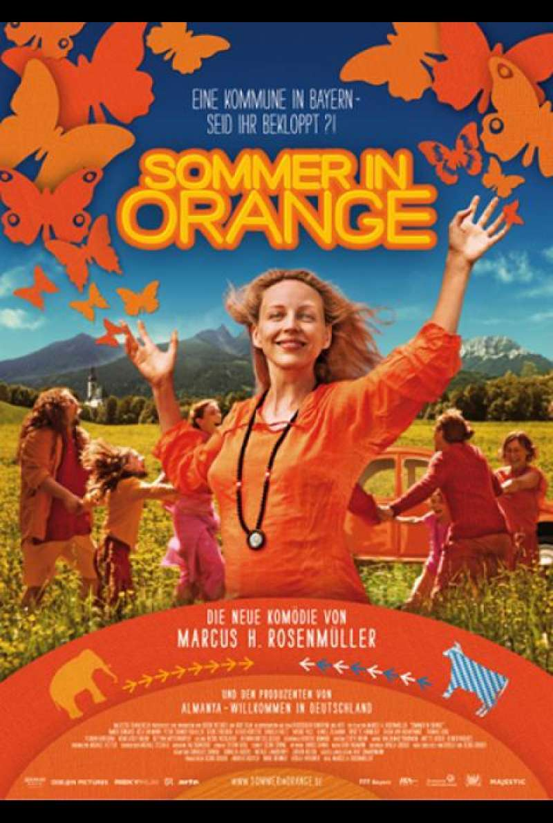 Sommer in Orange - Filmplakat