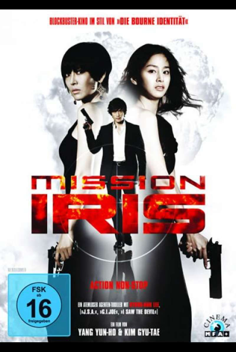 Mission I.R.I.S. - DVD-Cover
