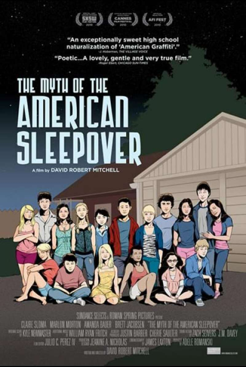The Myth of the American Sleepover - Filmplakat (US)