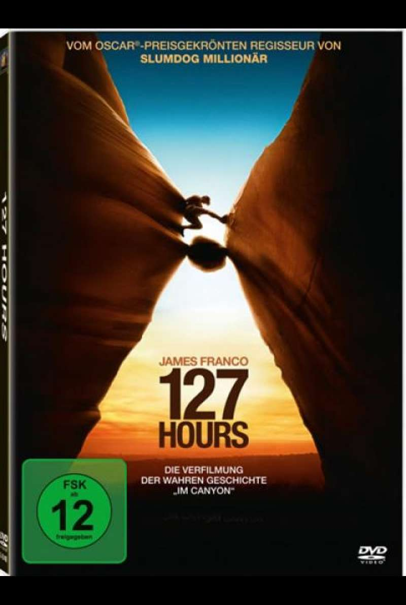 127 Hours - DVD-Cover