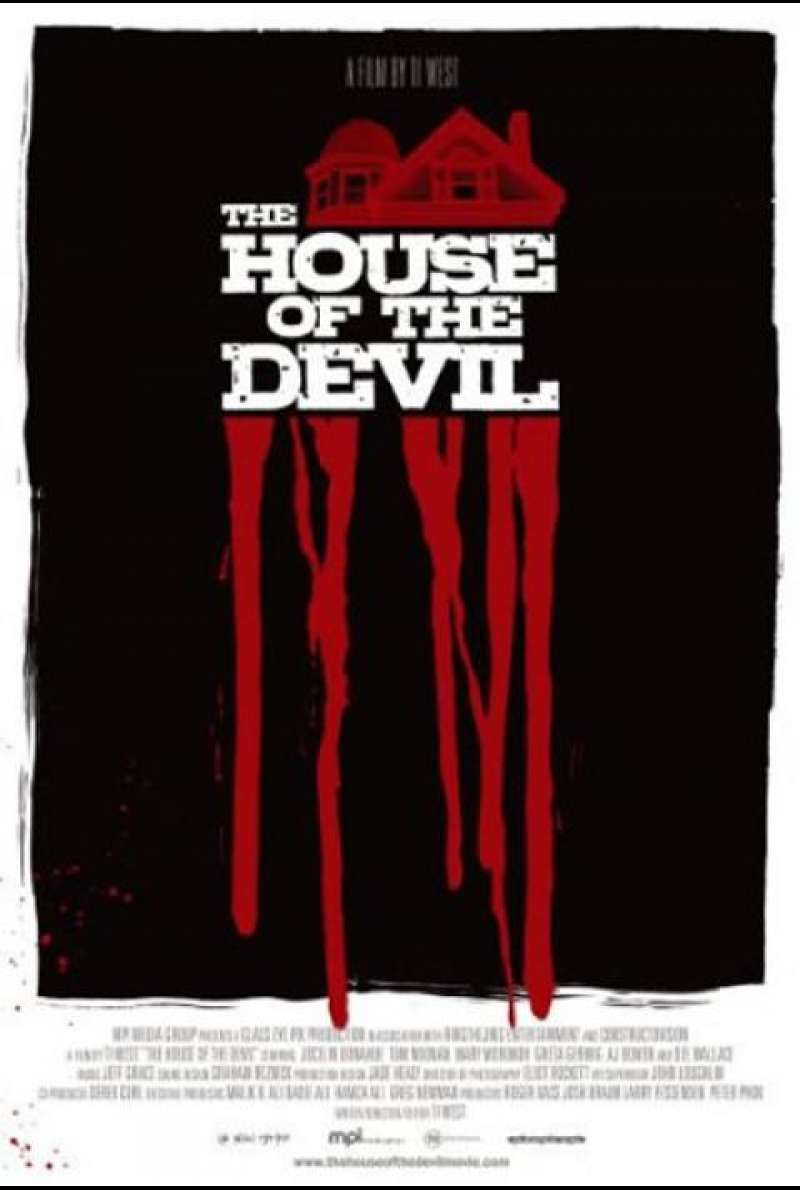 The House of the Devil - DVD-Cover