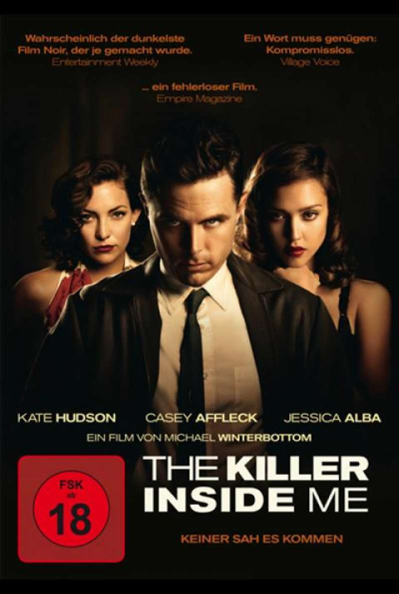 The Killer Inside Me - DVD-Cover