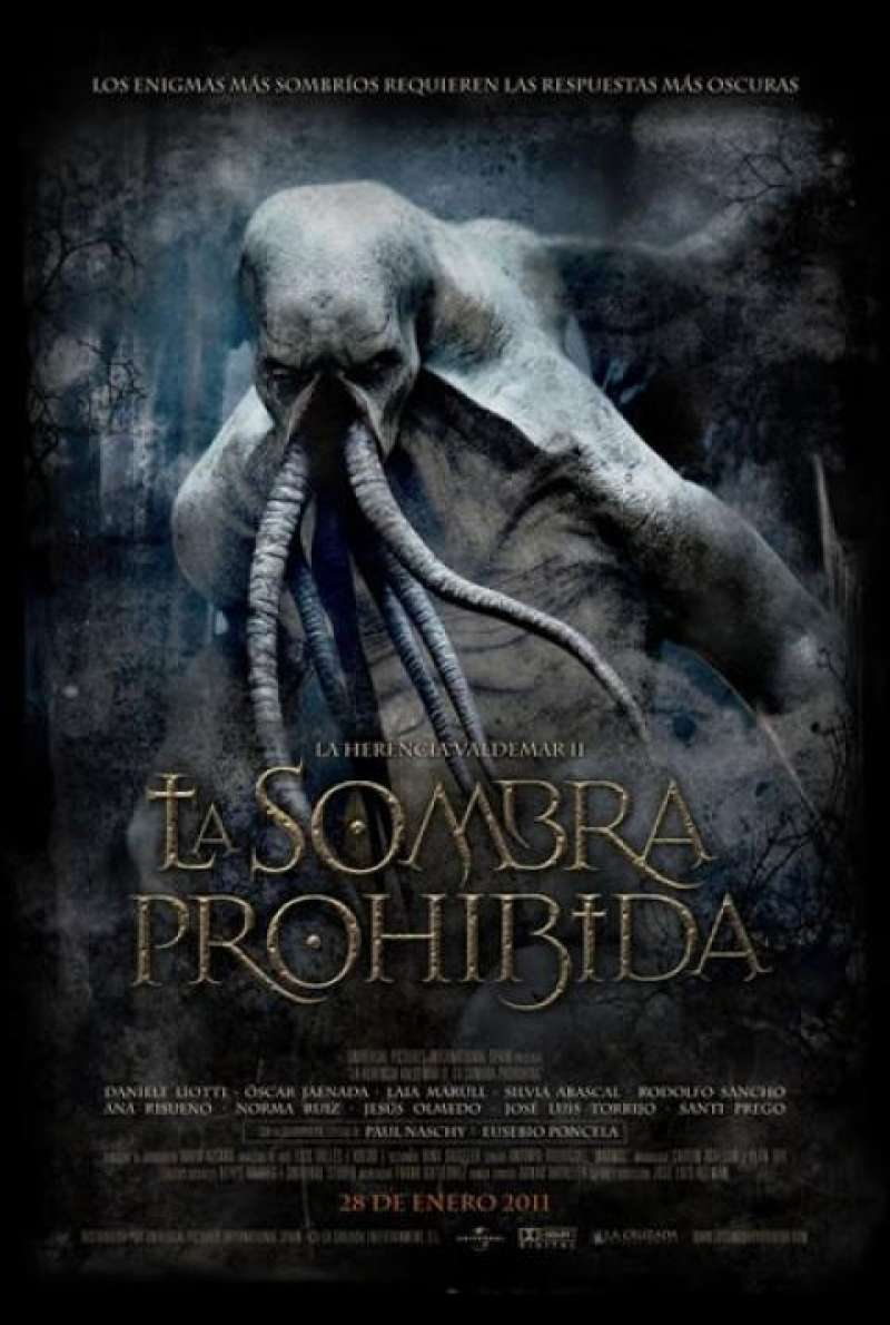 The Valdemar Legacy 2: The Forbidden Shadow - Filmplakat (ES)