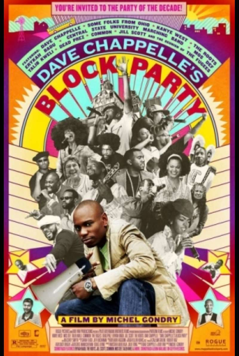 Filmplakat Dave Chappelle's Blockparty von Michel Gondry