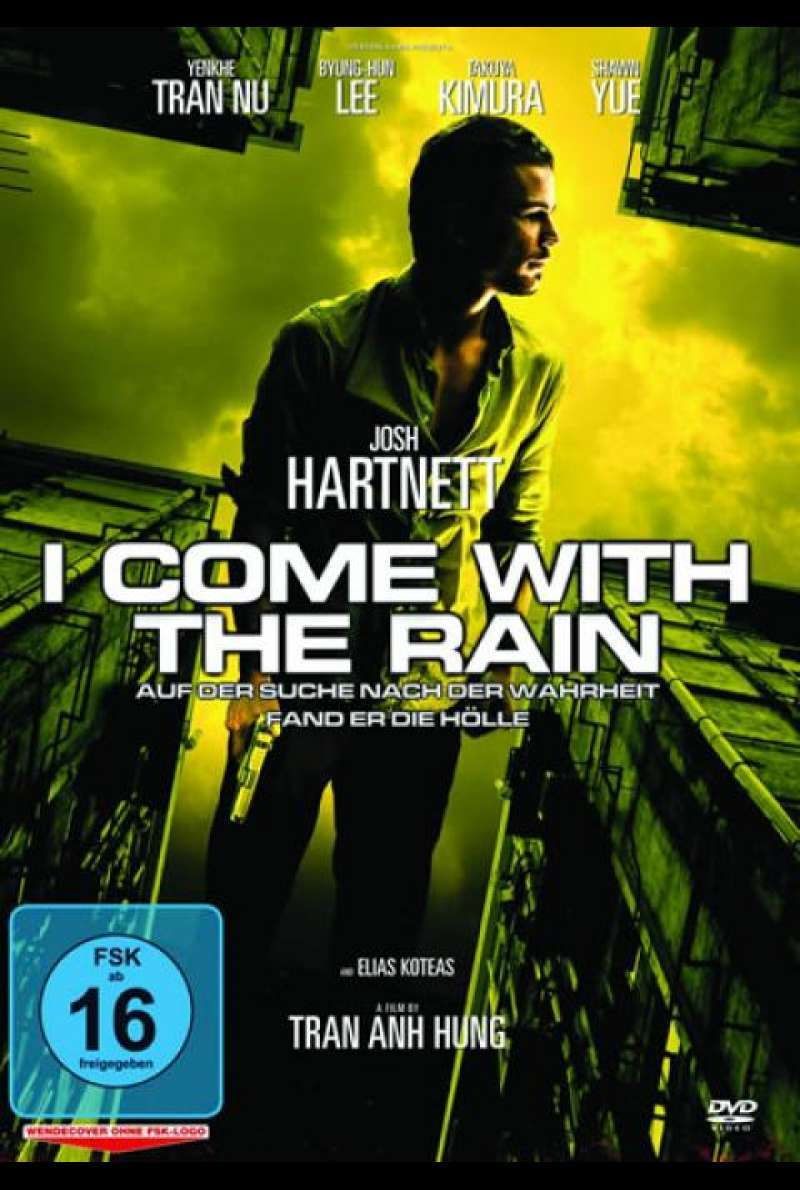 I Come with the Rain - DVD-Cover