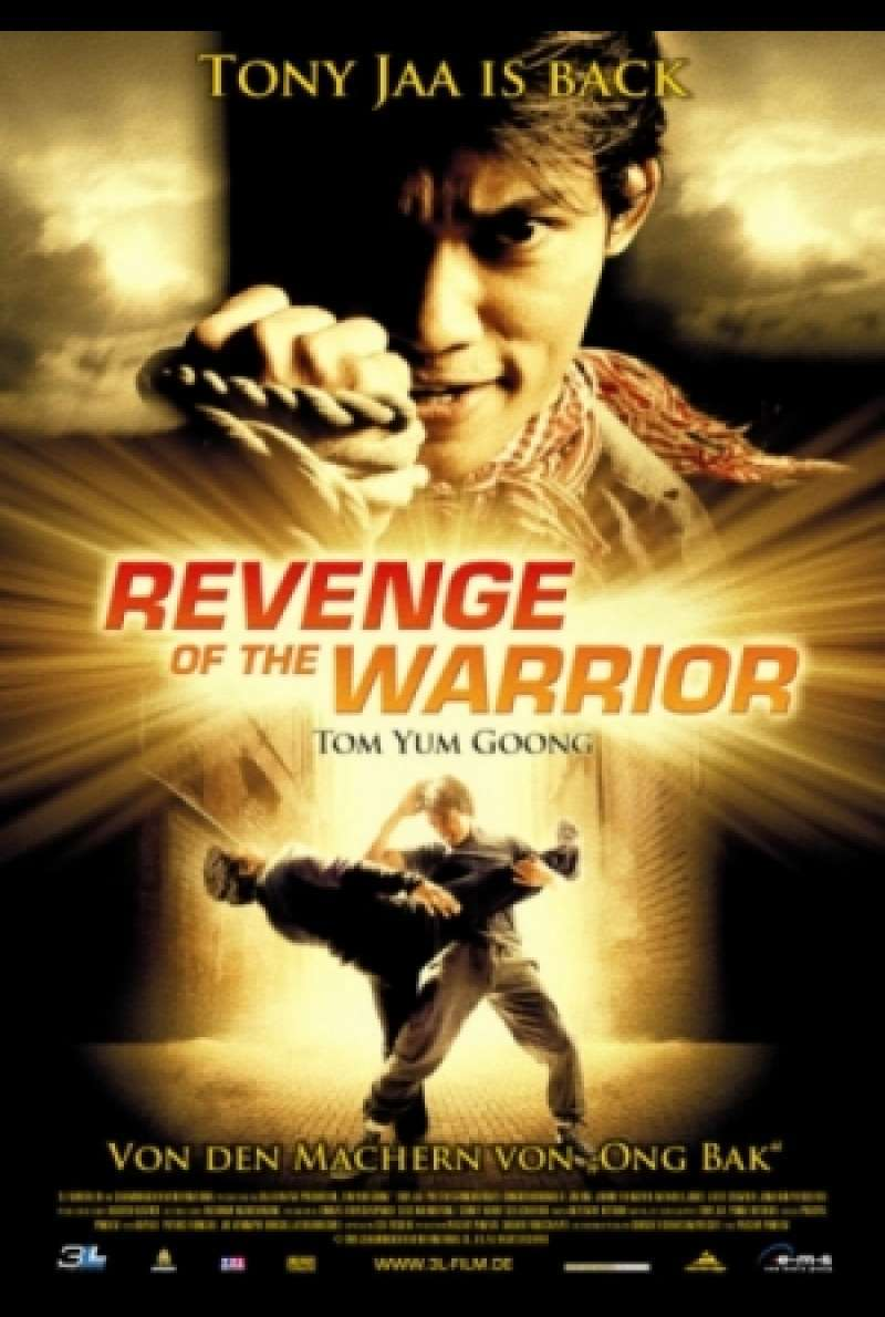 Revenge OF The Warrior - Filmplakat