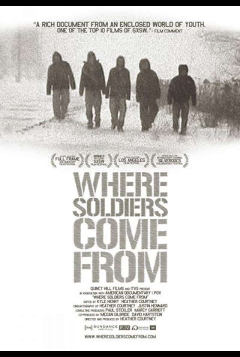 Where Soldiers Come From - Filmplakat (US)