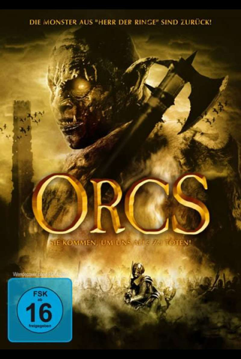 Orcs - DVD-Cover