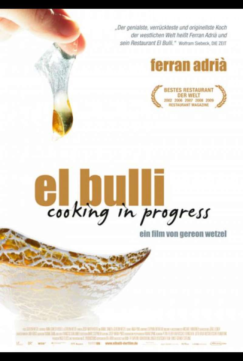 El Bulli - Cooking in Progress - Filmplakat