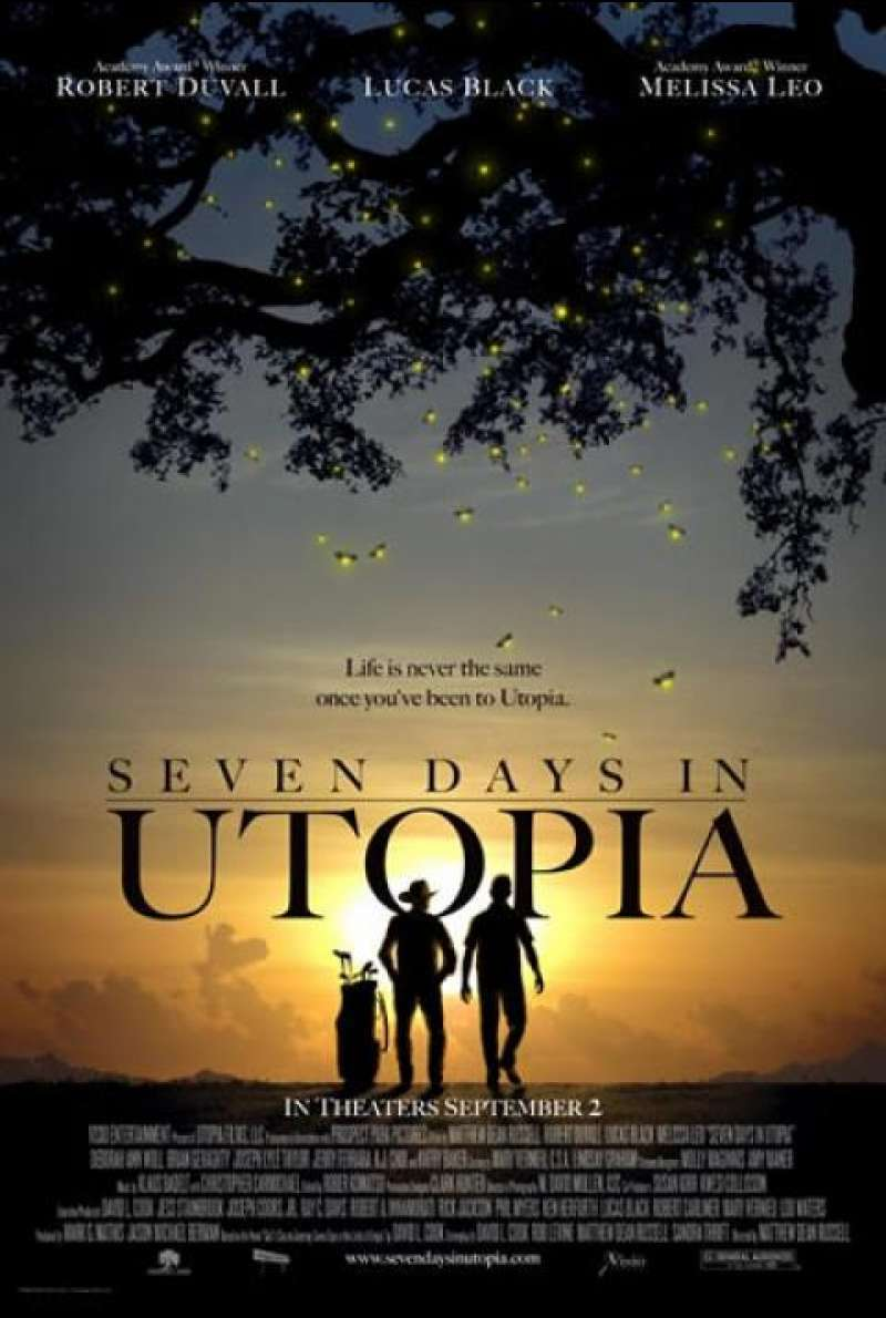 Seven Days in Utopia - Filmplakat (US)