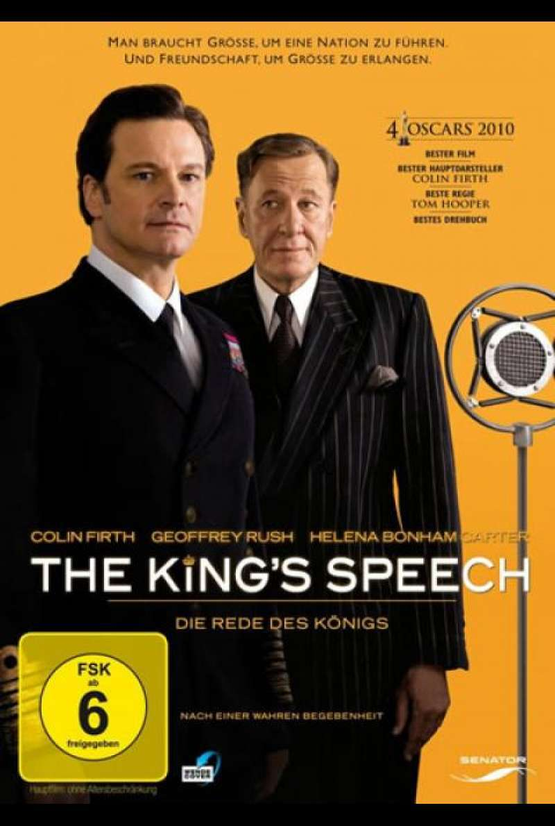 The King's Speech - DVD-Cover