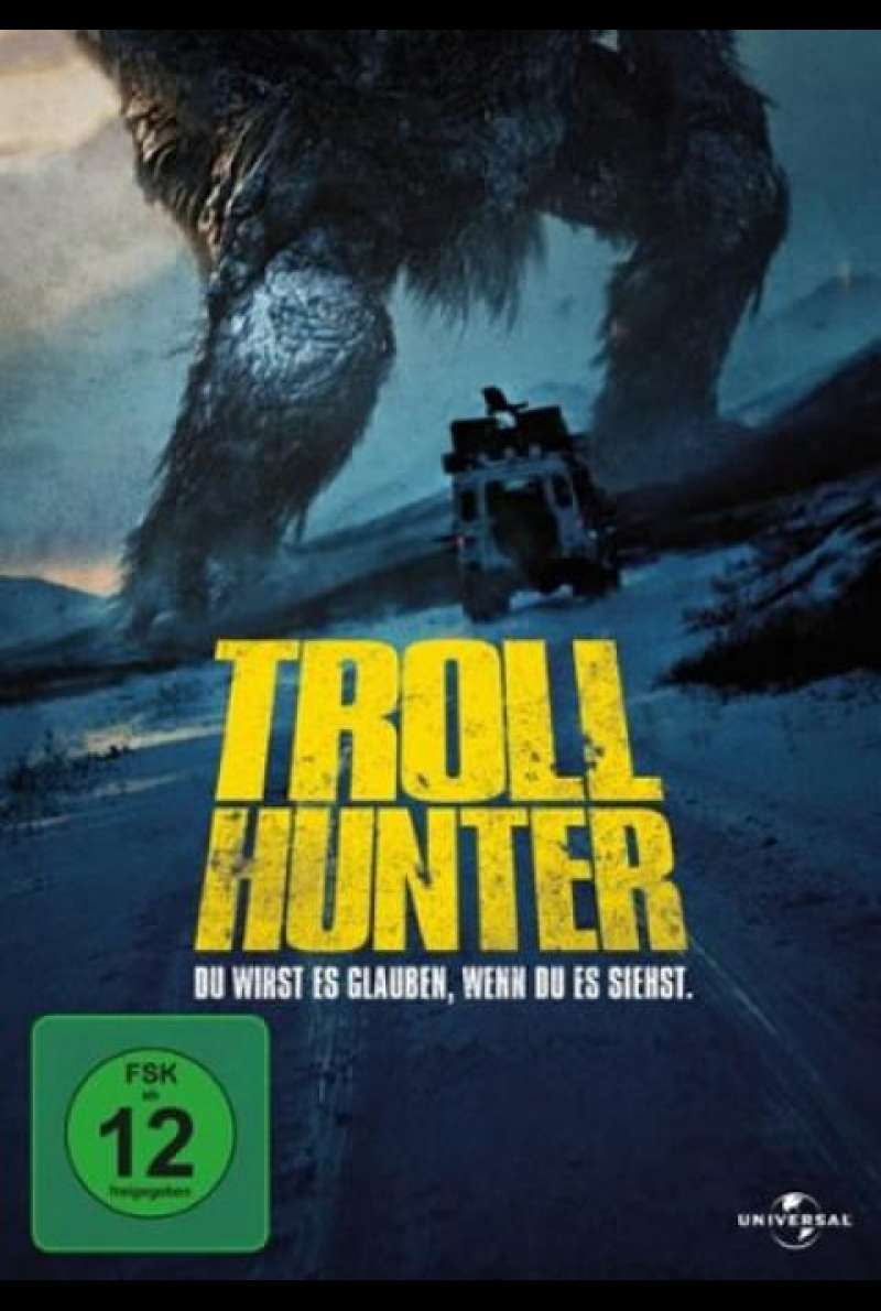 Trollhunter - DVD-Cover
