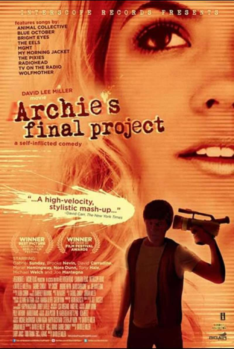 Archie's Final Project - Filmplakat (US)