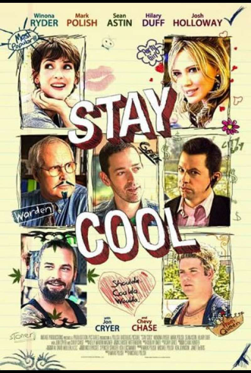 Stay Cool - Filmplakat (US)
