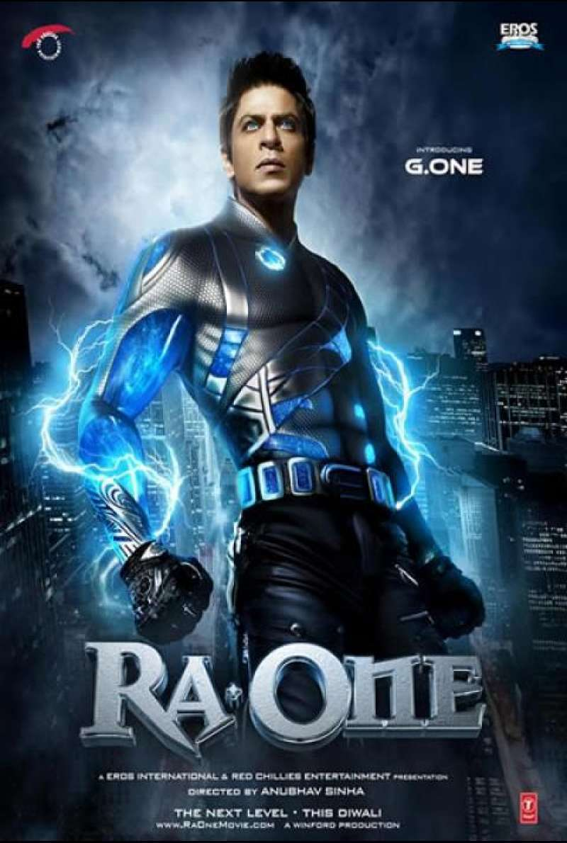 RA. One - Filmplakat (US)