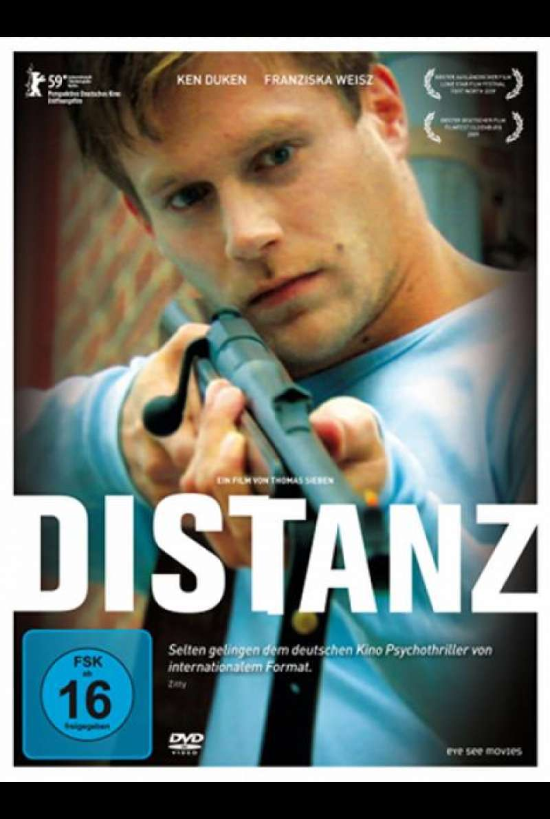Distanz - DVD-Cover