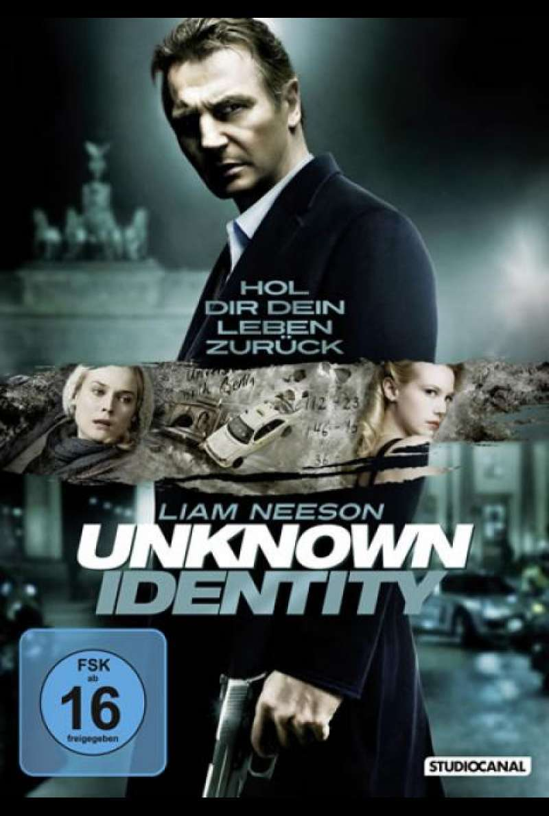 Unknown Identity - DVD-Cover