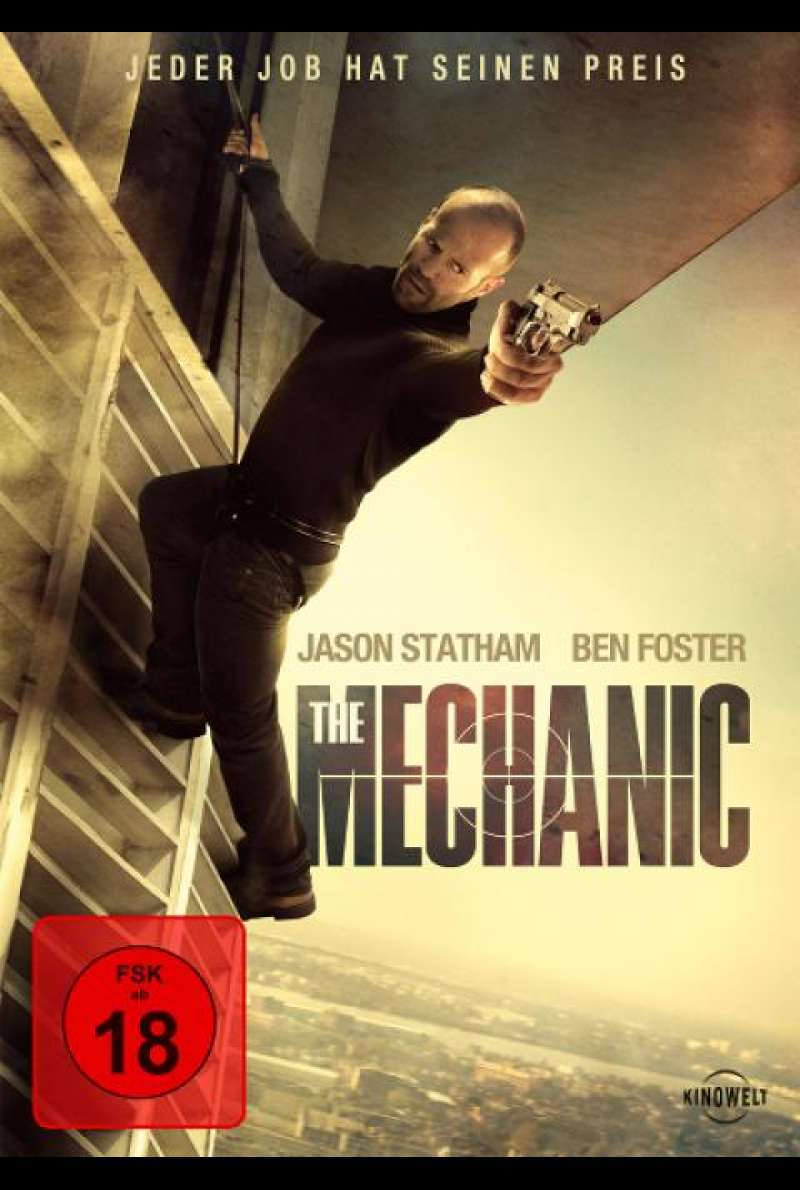 The Mechanic - DVD-Cover