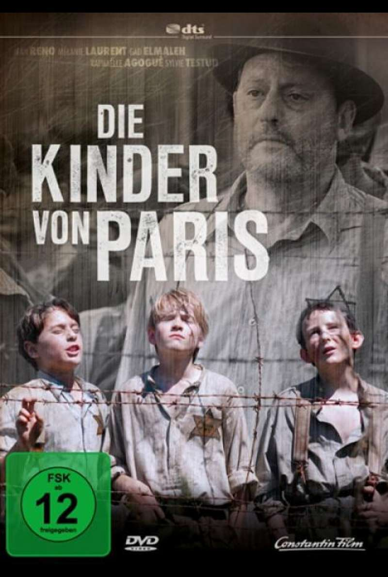 Die Kinder von Paris - DVD-Cover