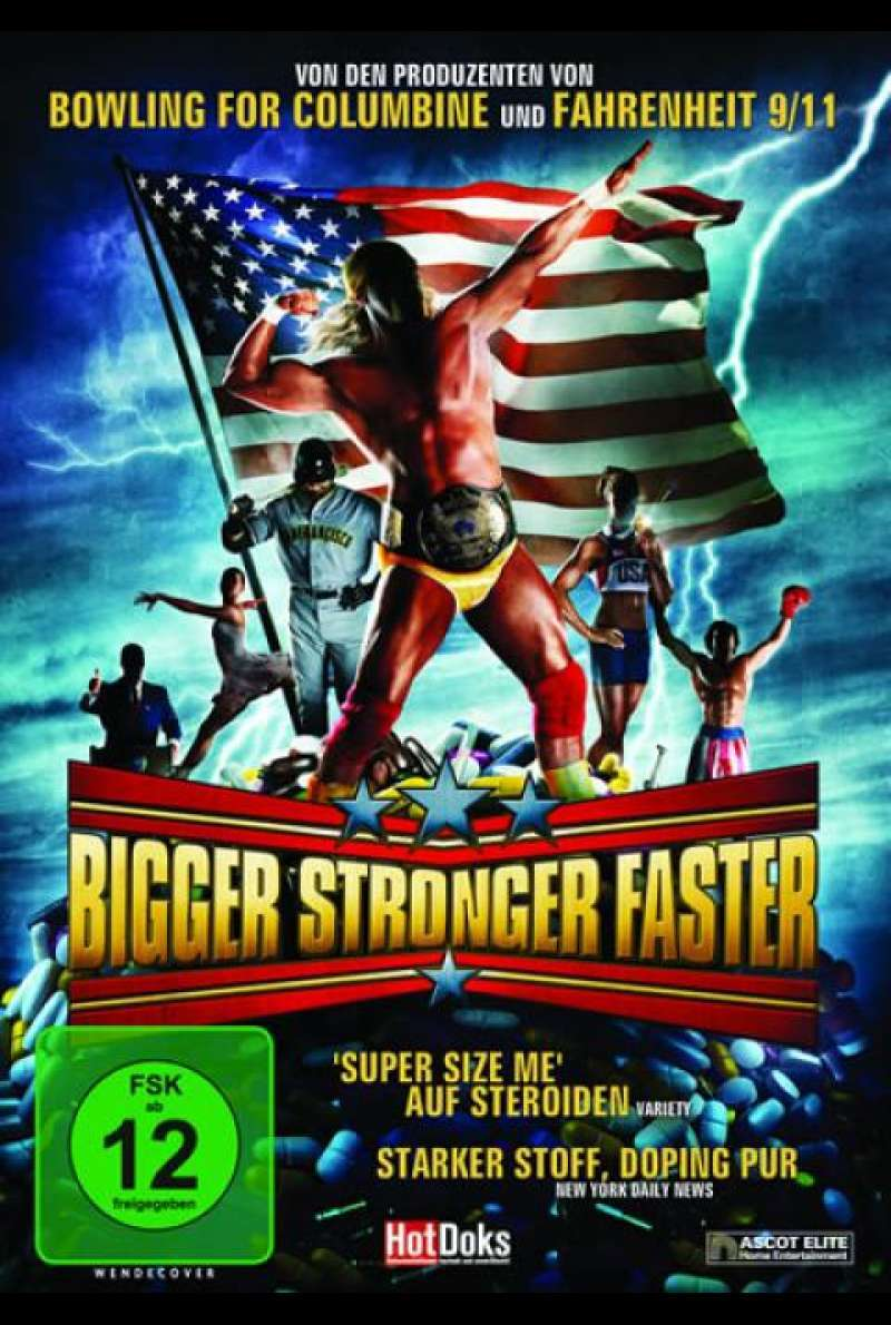 Bigger, Stronger, Faster - DVD-Cover