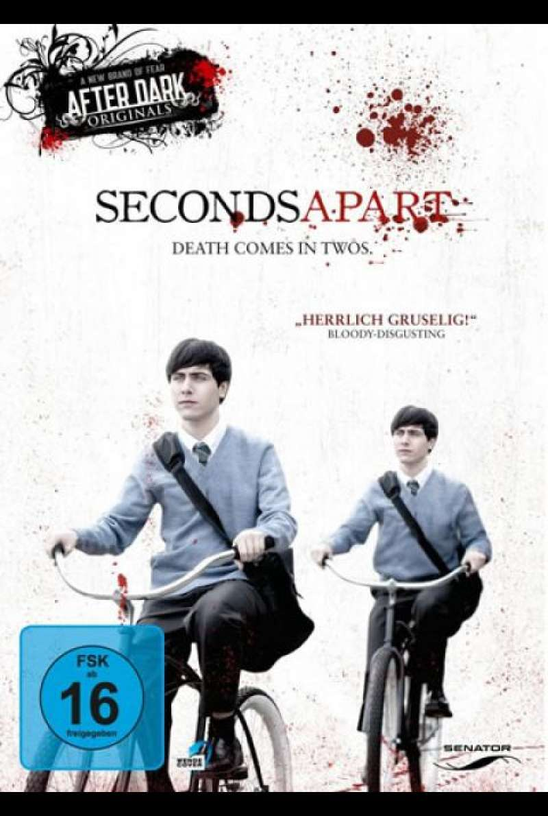Seconds Apart - DVD-Cover