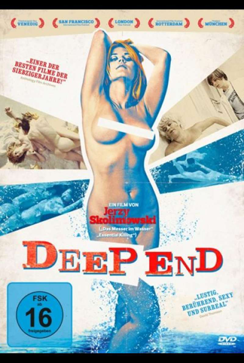 Deep End - DVD-Cover