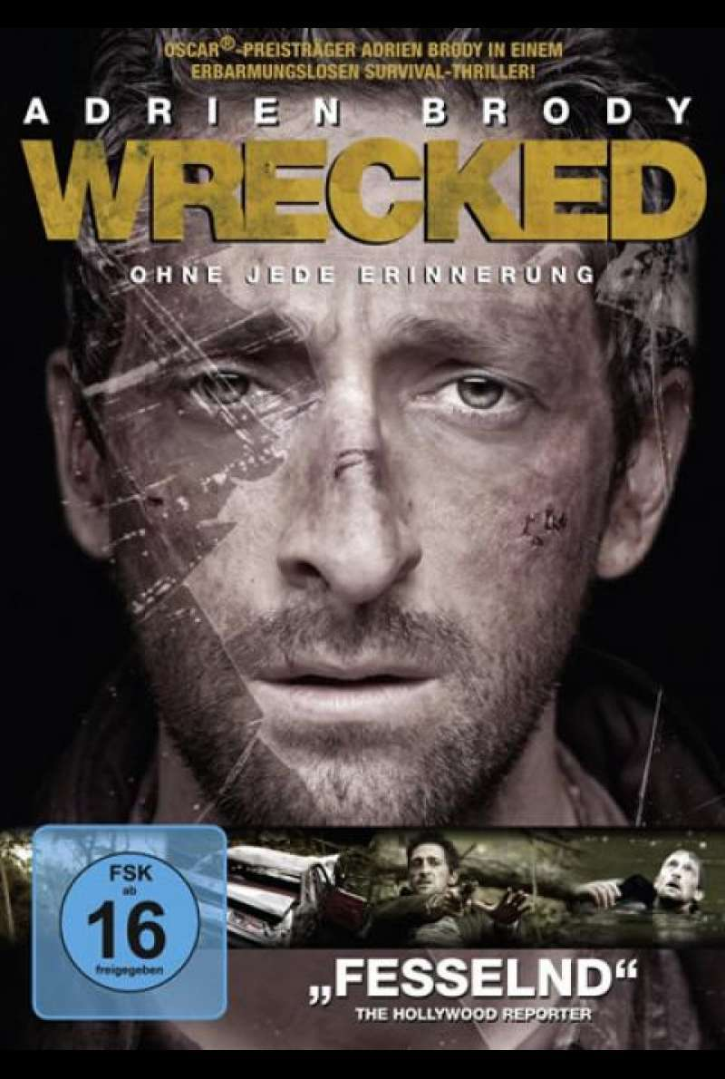 Wrecked - DVD-Cover